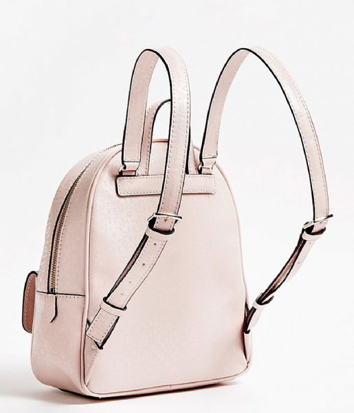 Tiggy Bowery Backpack blush Guess | The Little Green Bag