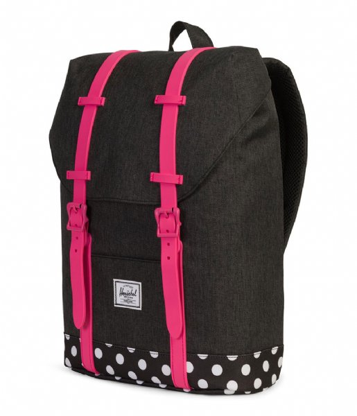e60de5dac5 Retreat Youth black crosshatch (02205) Herschel Supply Co.