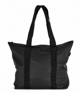 Rains Tote Bag Rush black (01)
